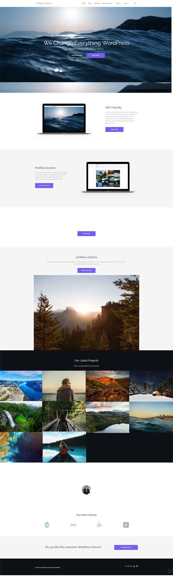 free-wordpress-clean